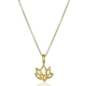 Jewelry - NEW lotus necklace